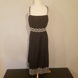 Antonio Melani silk Eyelet Dress size 14